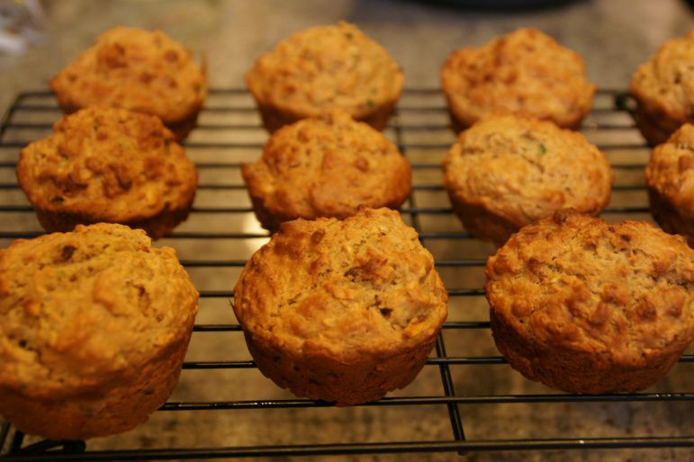 Carrot, apple, zucchini and date muffins | Procrastinatingbaker's Blog Very healthy