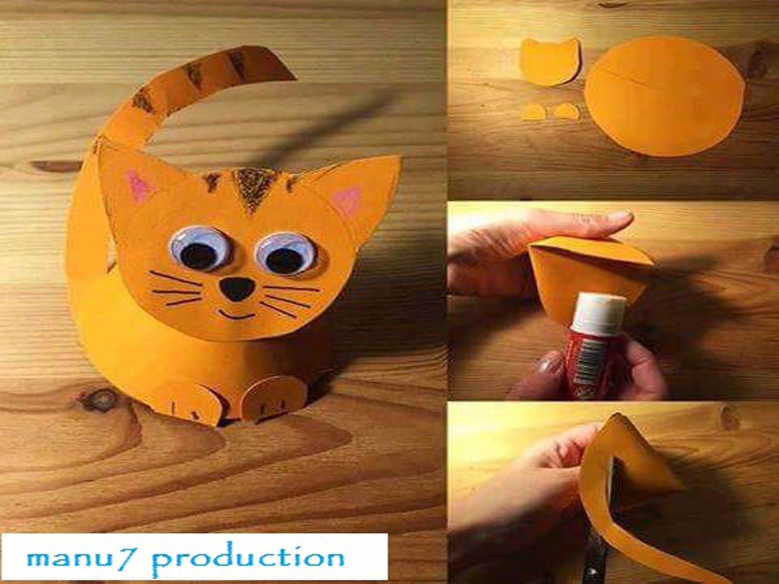 Amazing paper craft for kids pv pinterest crafts