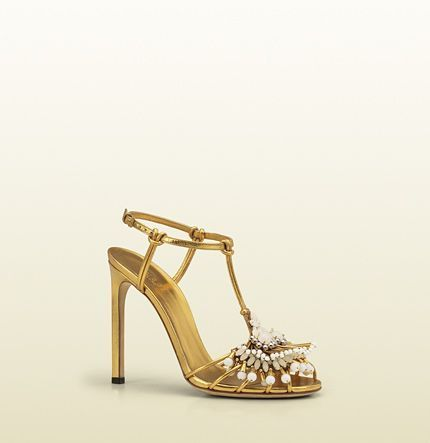 2f67beae3 www.gucci.com, Gucci, phoebe high heel sandal with jeweled embroidery,  bride, bridal, wedding, wedding shoes, bridal shoes, luxury shoes, haute  couture