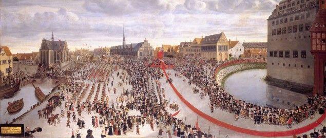 Arvehyldningen 1660 - Kongernes Samling