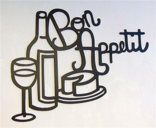 Kitchen Metal Wall Art back 40 metal worx bon appetit kitchen metal wall art | wall arts
