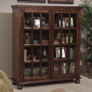 bassett mirror company bassett hunt country glass door bookcase traditional bookcases cabinets and computer