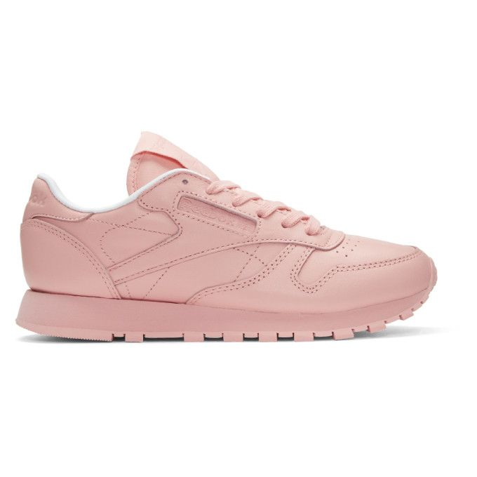 Pink Classic Leather Pastels Sneakers