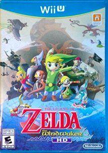 The Legend Of Zelda The Wind Waker Hd Wii U Juegos Videojuegos