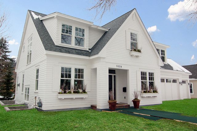 White House Facades Classical Versatile And Always Beautiful Cape Cod House Exterior Cape Cod Style House Farmhouse Style Exterior