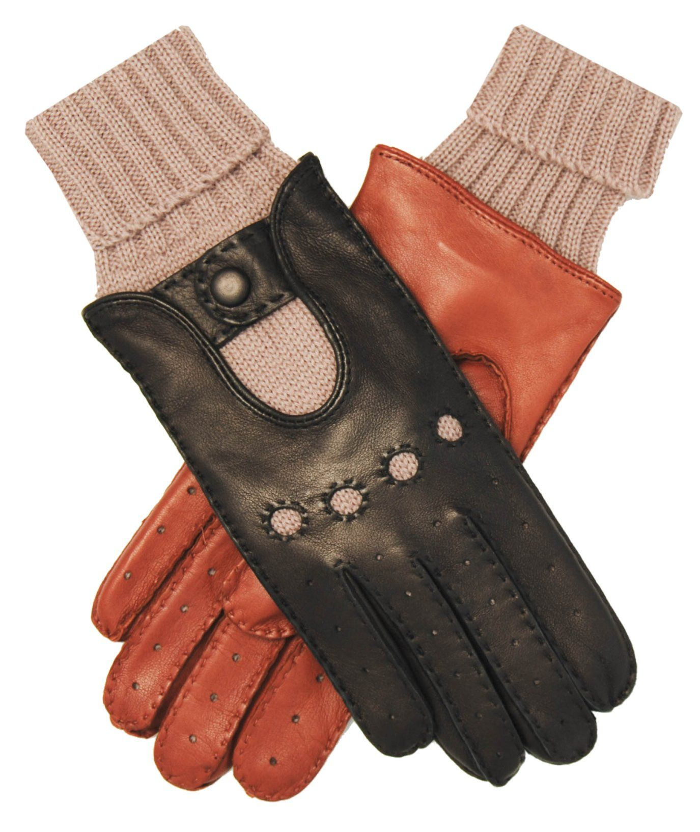 Red leather driving gloves mens - Men S Winter Leather Driving Gloves
