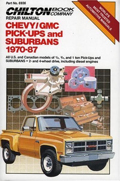 1998  Chevy  Gmc Pickups  U0026 Suburbans 1970