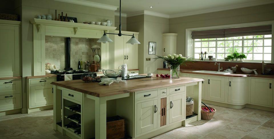 Green Kitchen Country Kitchen Pinterest