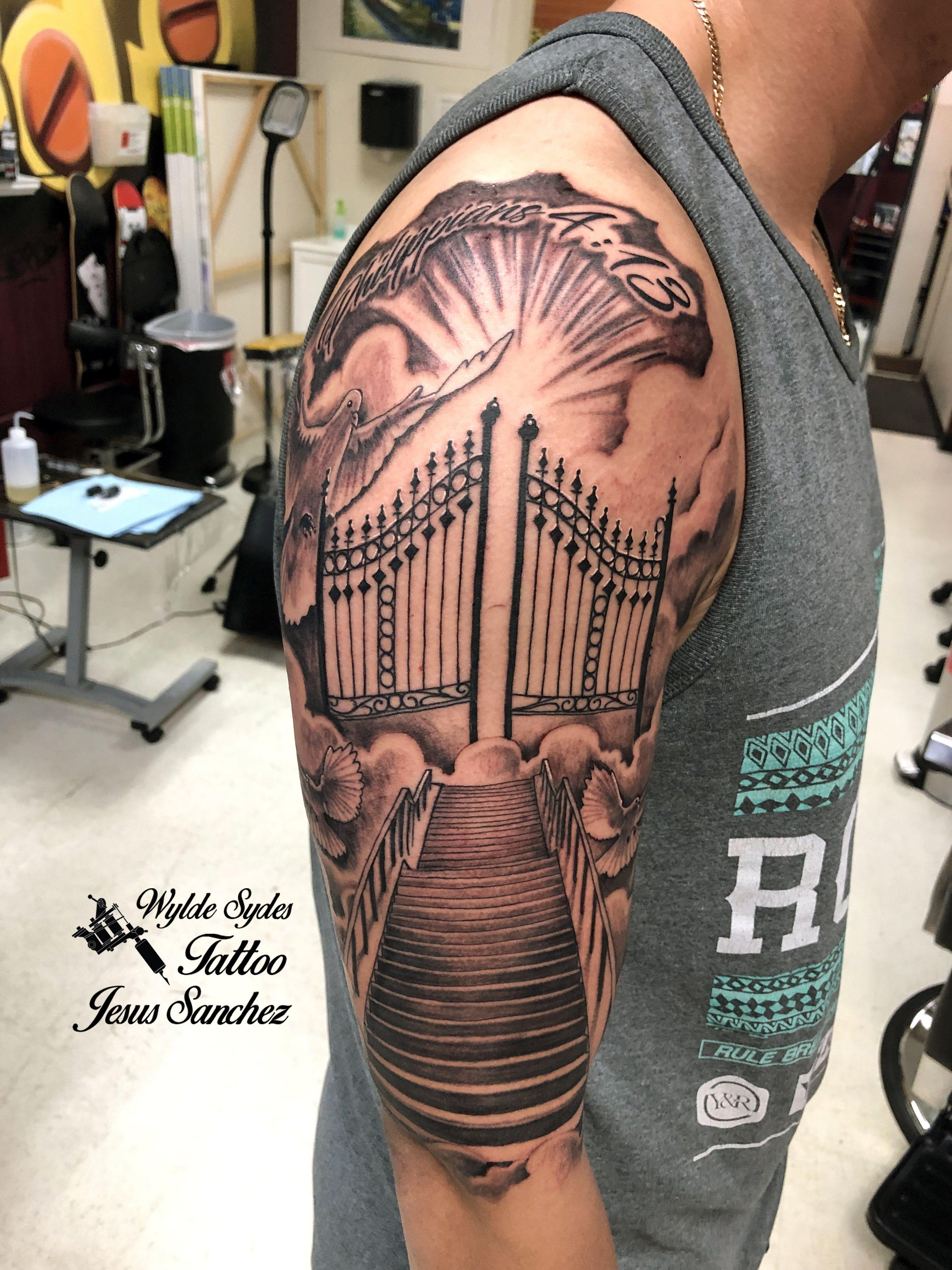 Pin On Wylde Sydes Tattoo Artist Jesus Sanchez