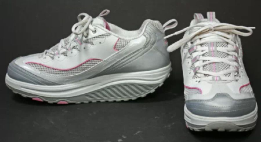 Justicia Baño Labe  NWOB Skechers Shape-Ups Jump Start White Silver Pink walking shoes 9.5   Skechers  shape ups, Shoes, Skechers