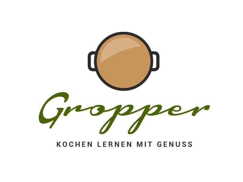 Exklusives Logo- und Corporate-Design für einen Koch, Kochschule ... | {Kochschule logo 8}