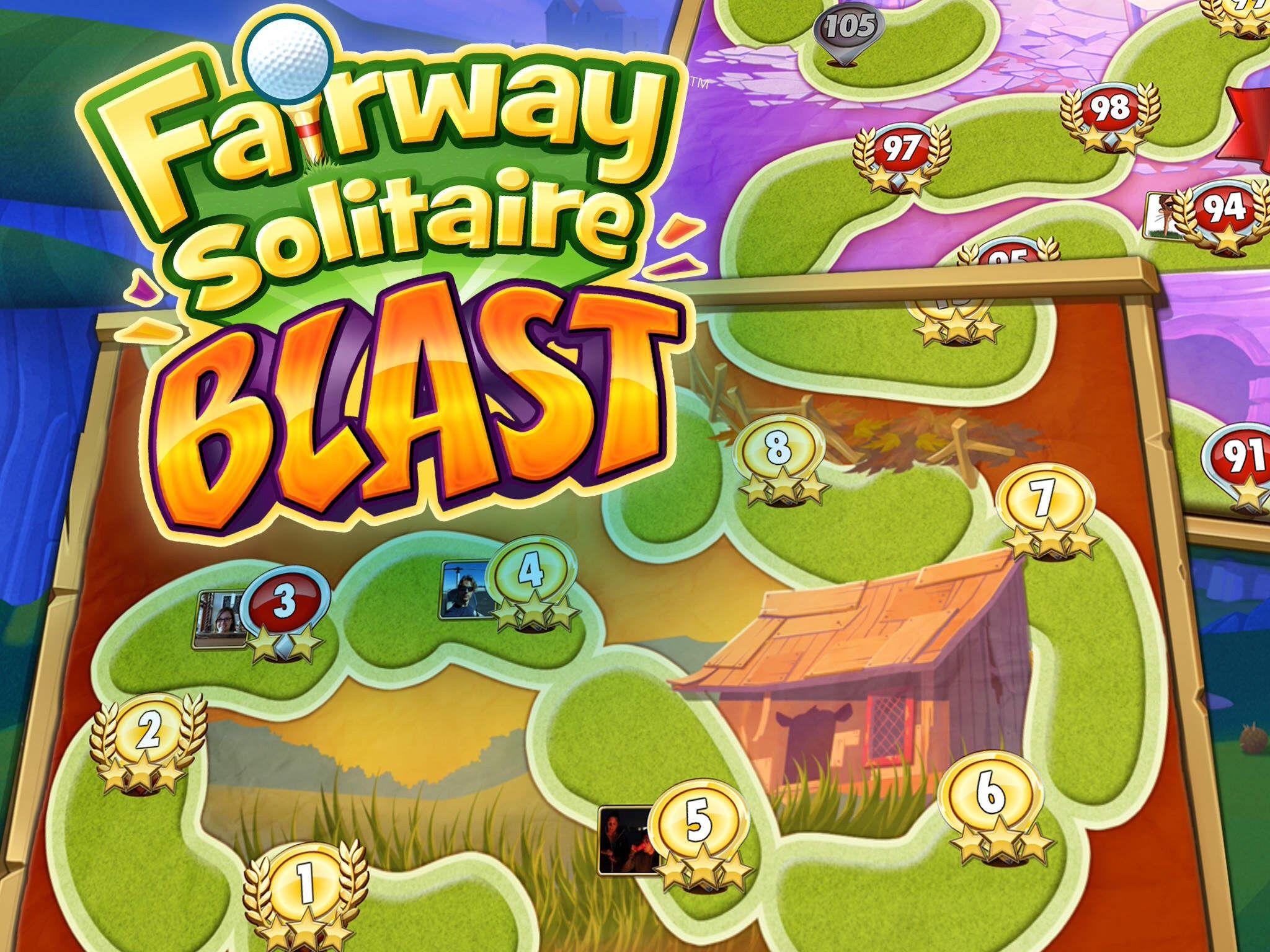 FairwaySolitaireBlast is solitaire as you love it, but