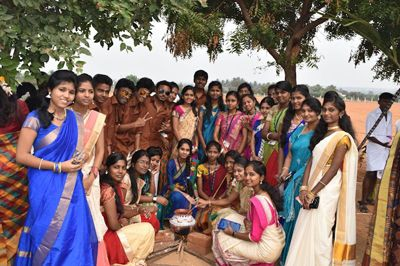 Pin By Nift Tea College Of Knitwear F On Nift Tea Event Gallery Pongal Celebration Celebration Event Event