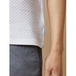 Photo of Strukturiertes Baumwoll-T-Shirt Ted Baker