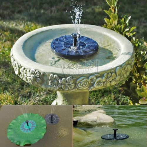 details zu 1 4w wasserspiel teichpumpe solar pumpe springbrunnen font ne garten teich de. Black Bedroom Furniture Sets. Home Design Ideas