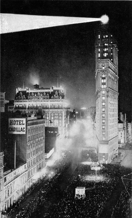 Times Square New Year S Eve Ca 1907 New York Historical Society Times Square Nyc Times Square New York City