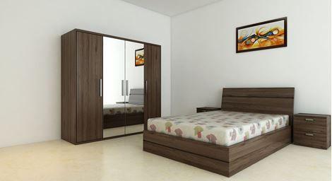 Picture Of Renne Bed Wardrobe Set Buy Bedroom Furniture Bedroom