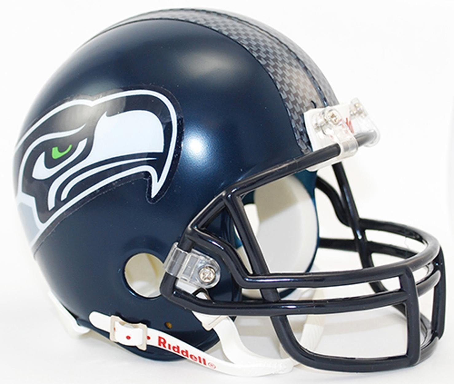 Nfl seattle seahawks nfl mini replica helmet mini
