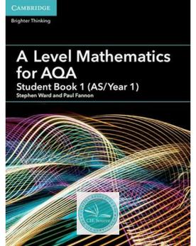 A Level Mathematics For Aqa Student Book 1 As Year 1 Mathematics Aqa Advanced Mathematics
