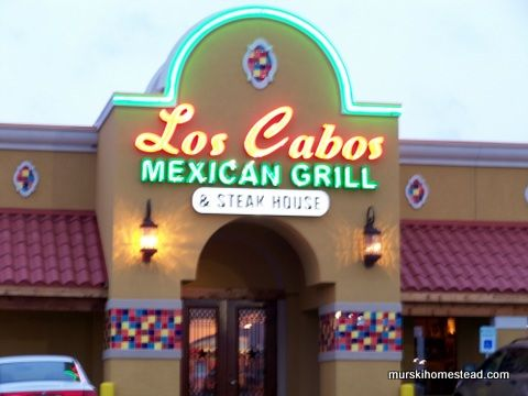Mexican Food – Brenham Restaurant Review: Los Cabos | Murski Homestead Bed and Breakfast | Brenham, TX
