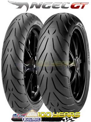 Pirelli Angel Gt Front And Rear Tire Set 120 70 17 180 55 17 2 Tires Pirelli Tire Motorcycle Gear