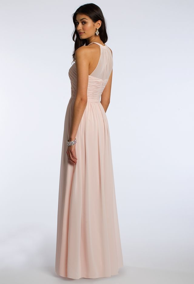 Illusion Halter Dress from Camille La Vie and Group USA | Vestidos ...