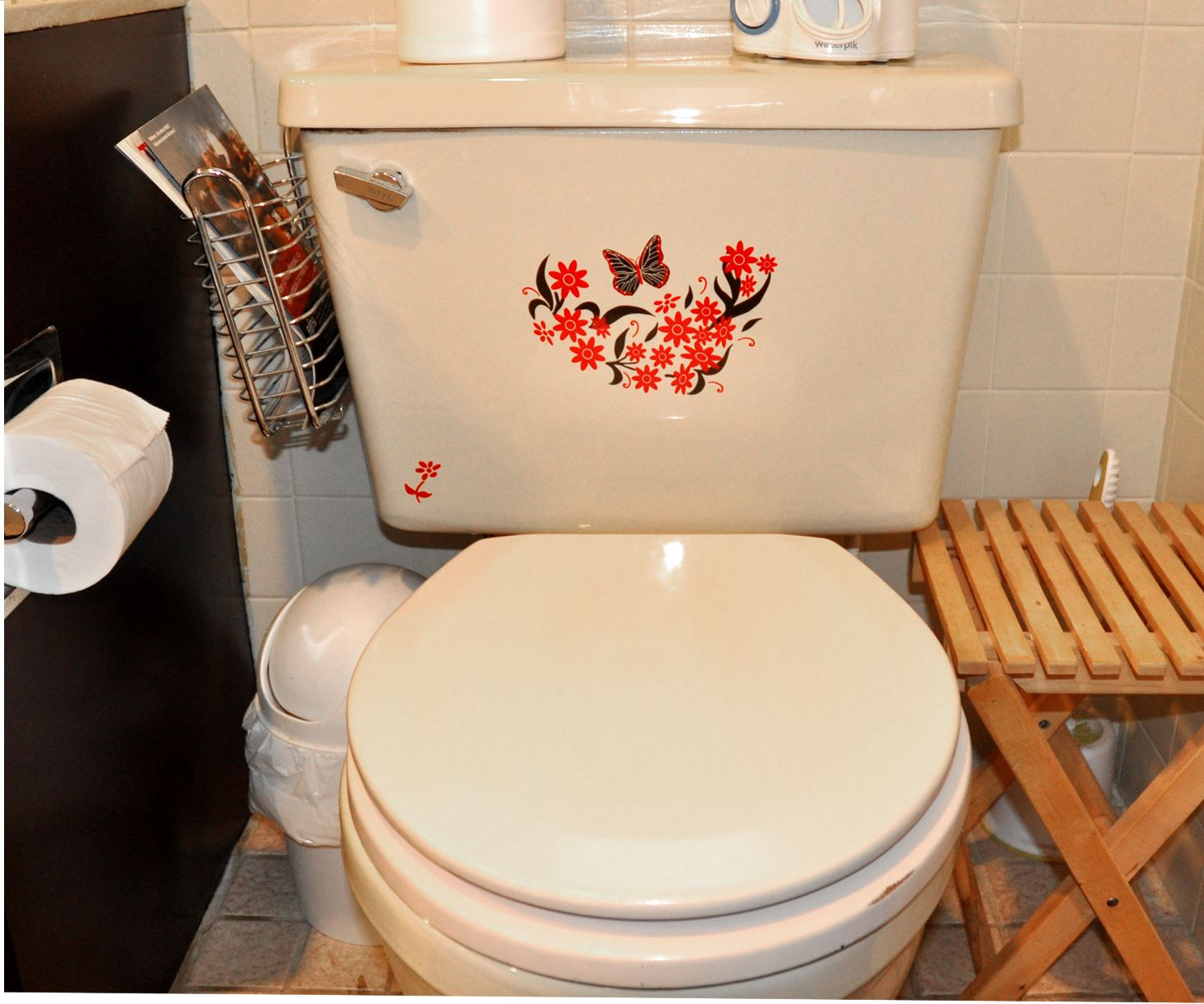 Daisy Splash Decals For A Toilet Tank Or Sink Or Mirror Toilet Tank Bathroom Decals Toilet
