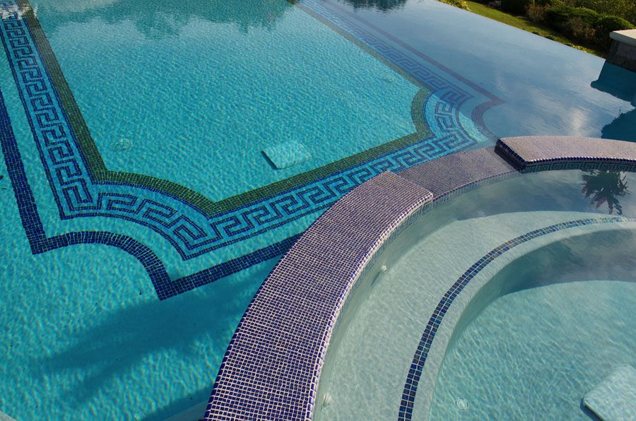 National Pool Tile Design Center Youtube. Pool Tile