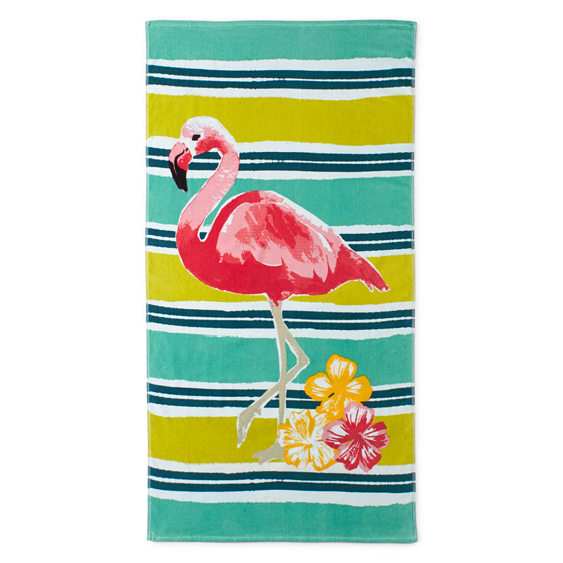 Outdoor Oasis Flamingo Road Beach Towel Beach Towel Outdoor