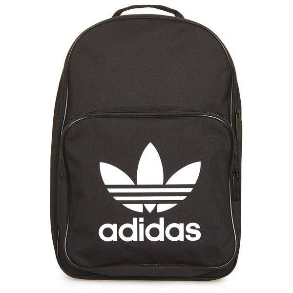 Trefoil Backpack by Adidas Originals (110 BRL) ❤ liked on Polyvore featuring bags, backpacks, backpack, adidas, topshop, backpack bags, adidas bag, adidas backpack and knapsack bag