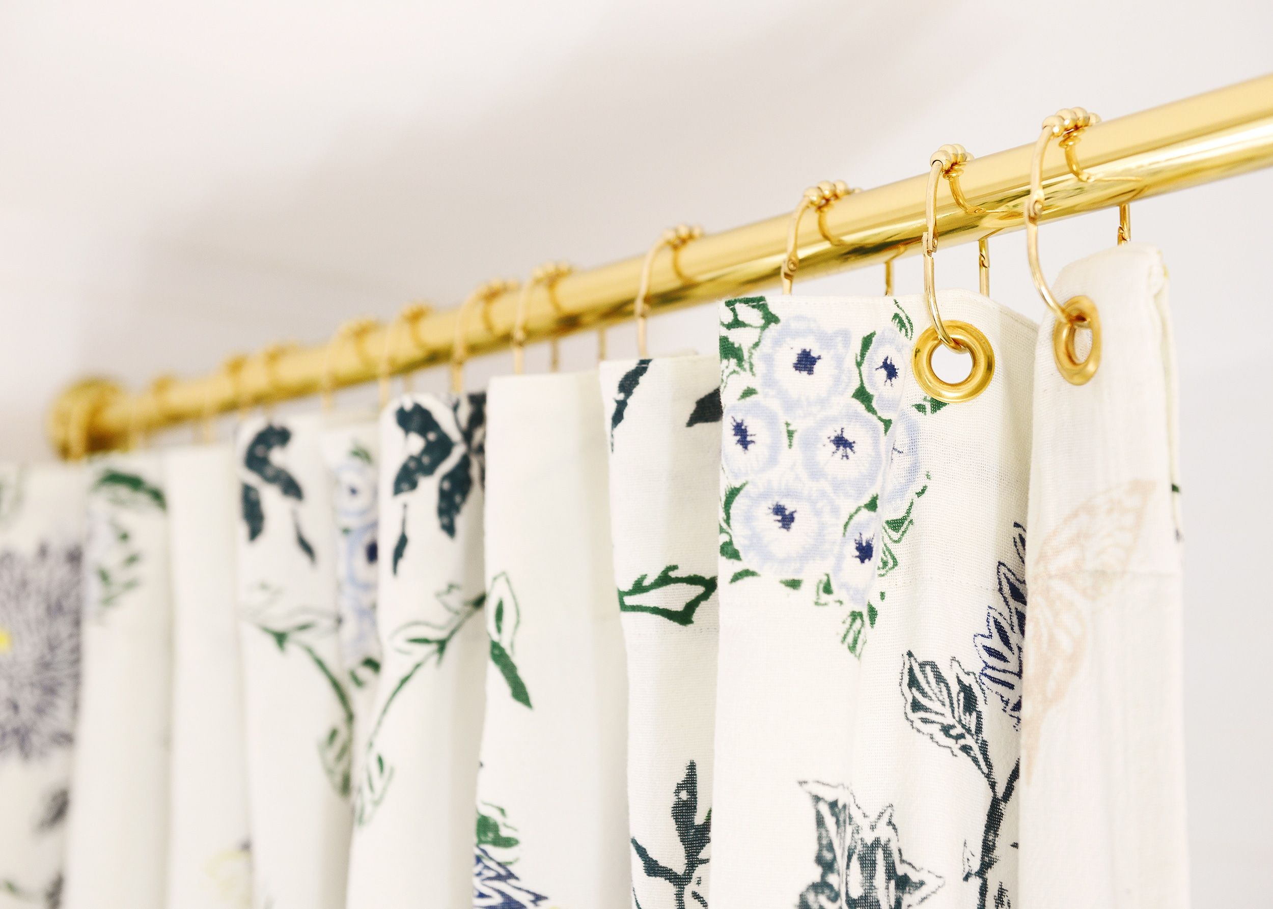 Here S How We Made An Extra Long Shower Curtain 17 Favorites
