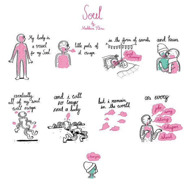 Soul Art Print by MadeleineFlores | Soul art, Print, Art ...