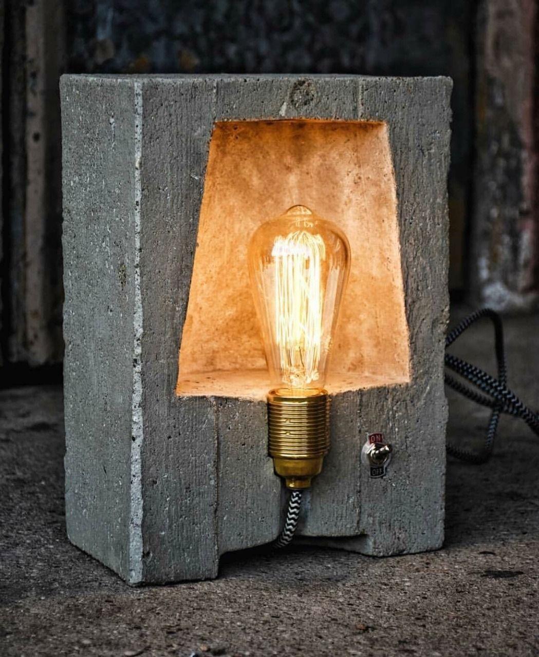 Pin Von Dieter Bellgardt Auf Ideen Design Lampen Lampe Beton Lampendesign