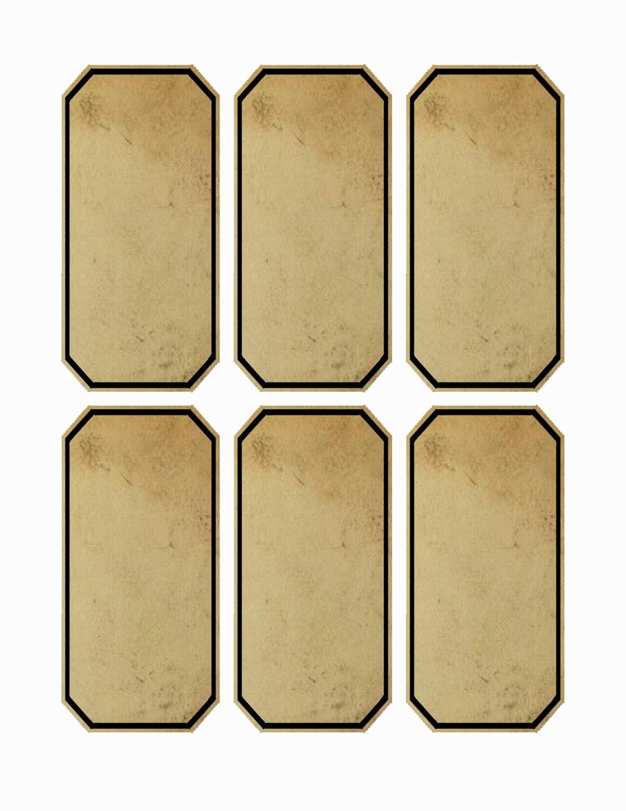 free printable blank tag templates
