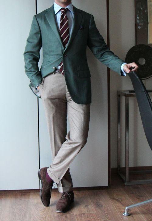 Slim fit dress pants styleforum blazer