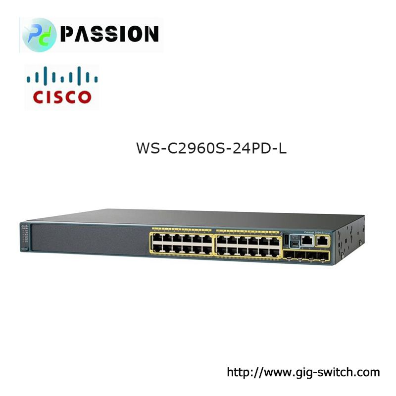 Cisco Ws C2960s 24pd L Catalyst 2960s 24 Gige Poe 370w 2 X 10g Sfp Lan Base Switch Cisco Company Logo Tech Company Logos