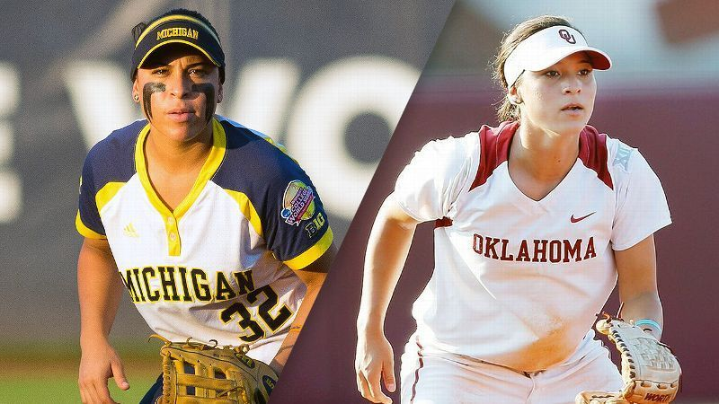 Hays The Year Of The Romero Sisters Ncaa Softball Oklahoma Softball Michigan Softball