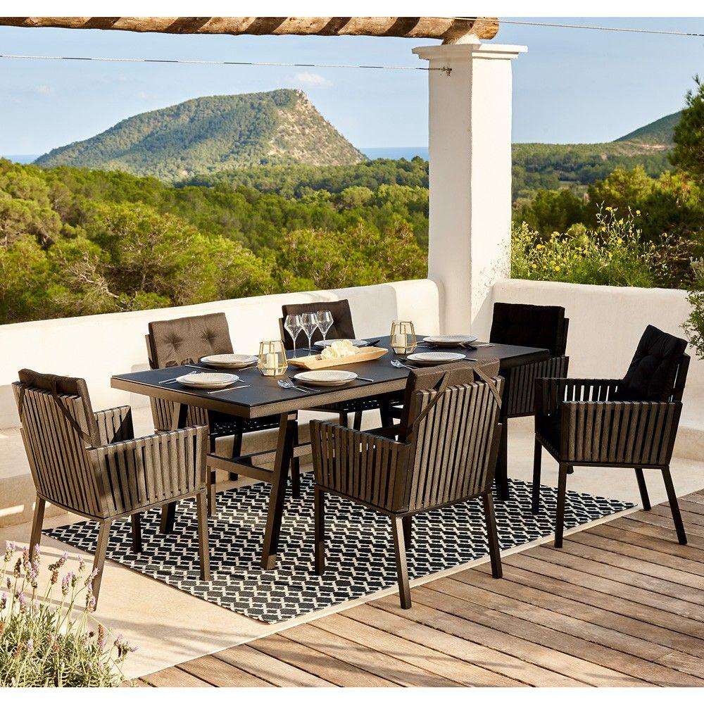 mobilier jardin chaise salon de jardin