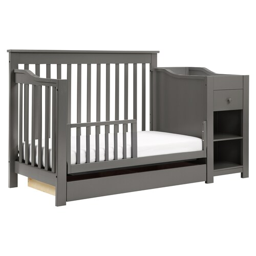 Davinci Piedmont 4 In 1 Crib Changer Combo 4 In 1 Crib Cribs Crib And Changing Table Combo