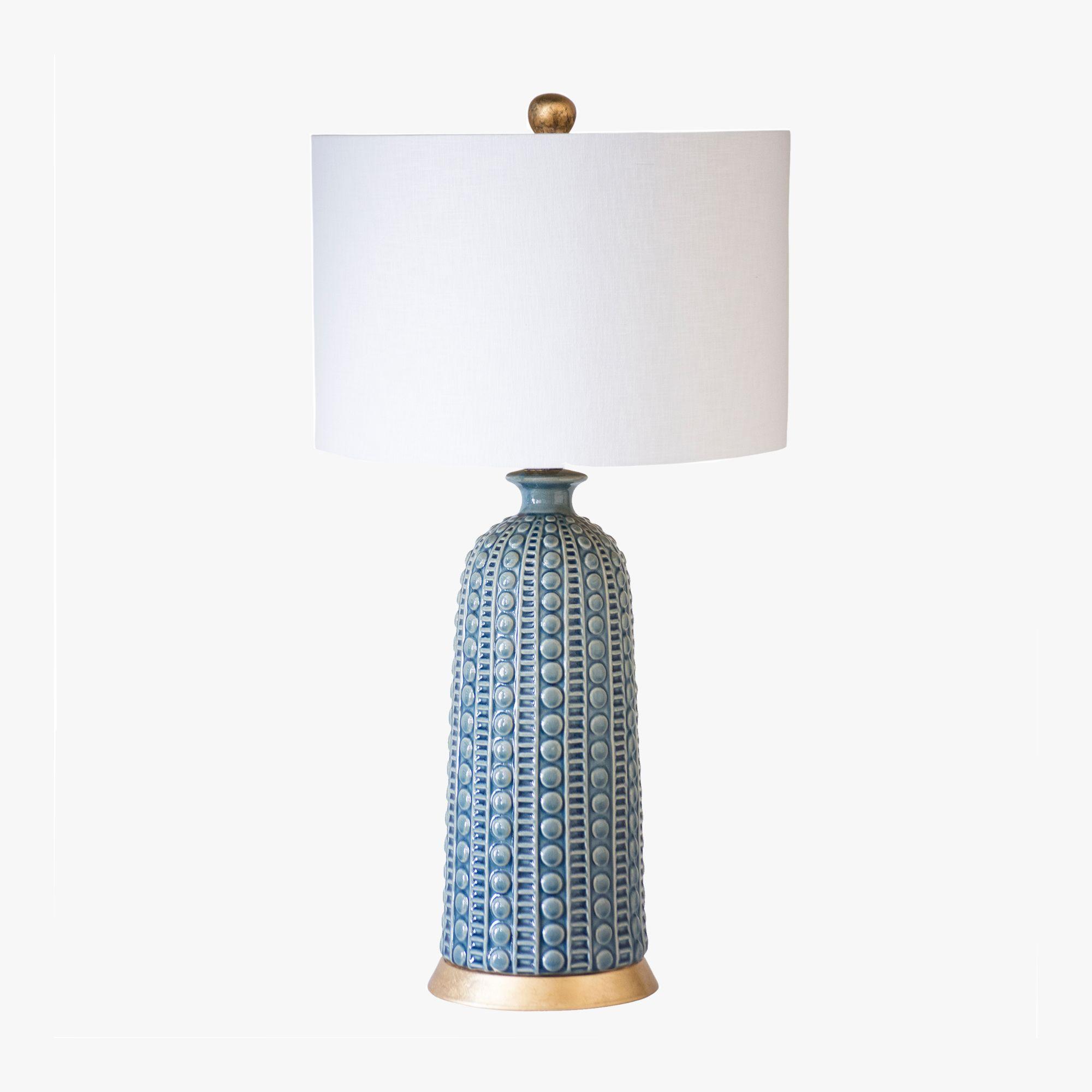 Blue Ceramic Table Lamp Decorating Ideas Table Lamp Ceramic