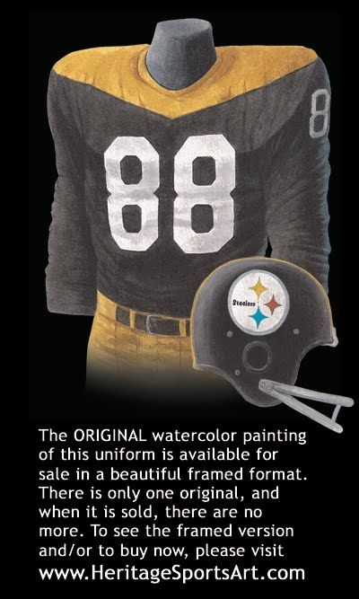 ccc8cd386cc Pittsburgh Steelers 1967 uniform - maybe the 85th anniversary throwback!