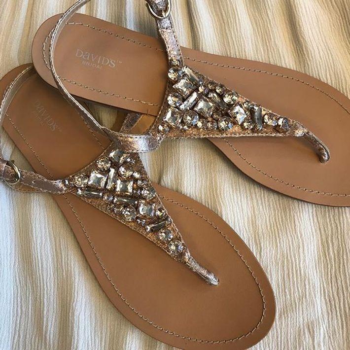 52ea1812a5e9 Jeweled Metallic Ankle-Strap Thong Sandals