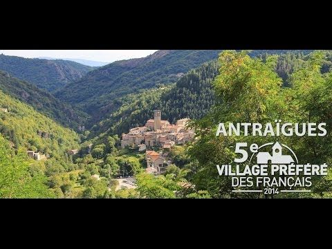 La Vallée de la Volane en Ardèche (video) Villages Pinterest - chambre d hote antraigues sur volane