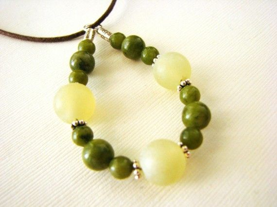 Luck and Harmony  Jade and Serpentine Nursing by stonesofhealing2, $22.00