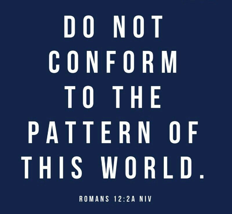 """Do not conform to the pattern of this world, but be transformed by the renewing of your mind"" (Romans 12:2a NIV).  If you want to have lasting change in your life, you need to refocus your mind.  Specifically, you need to change your thought patterns from focusing on what you don't want to focus on to what you do want to focus on. Because whatever you focus on is what you move toward."