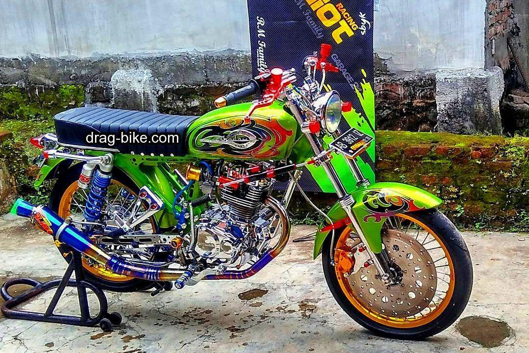 51 Foto Gambar Modifikasi Motor Cb 100 Terbaik Kontes Drag Bike Com Honda Cb Gambar Motor