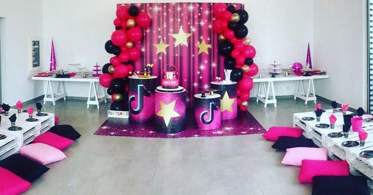 Tik Tok Party Theme Google Search Music Birthday Party Party Theme Birthday Parties
