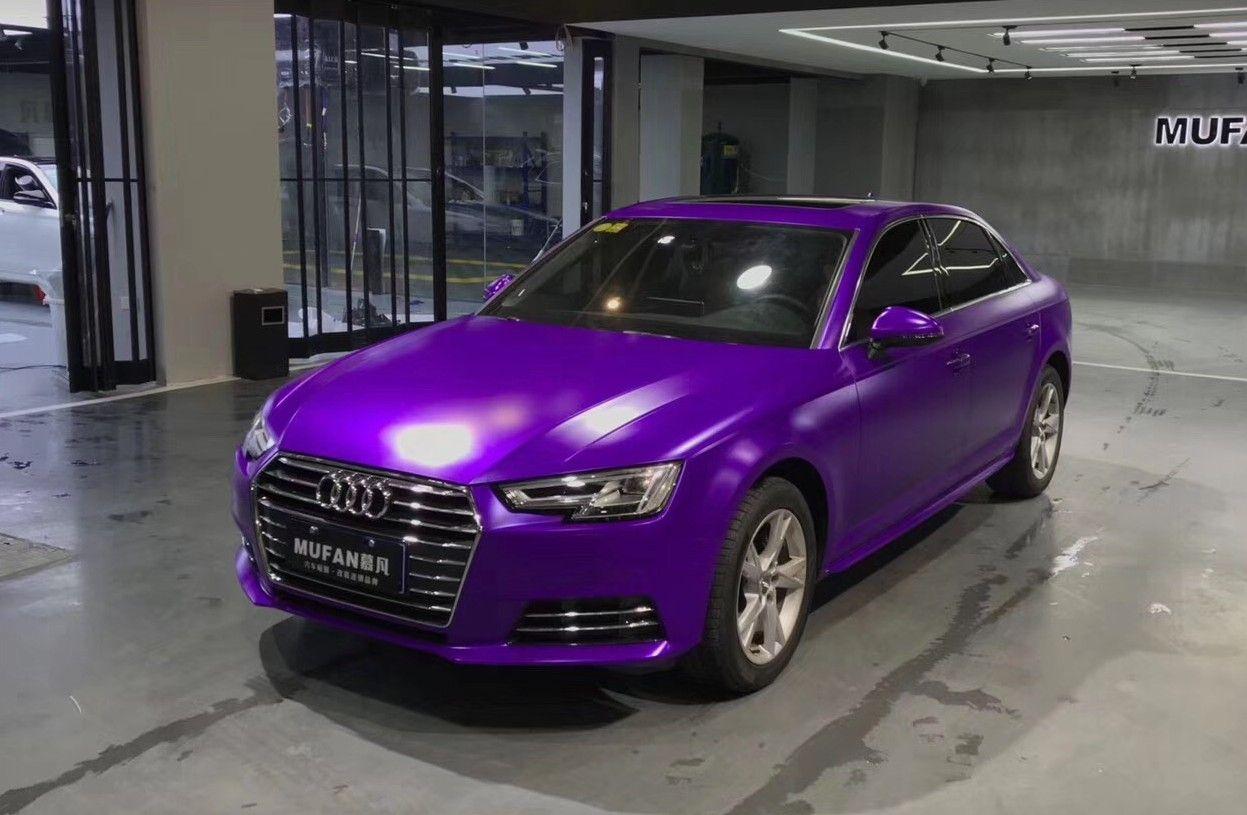 Purple Matte Metallic Wrap