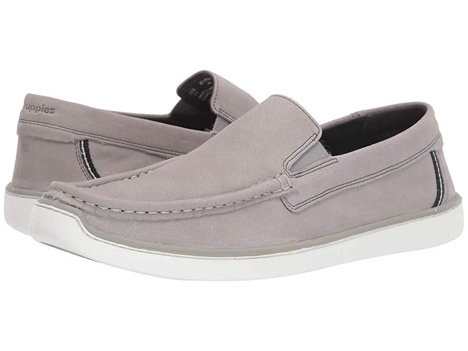 Hush Puppies Toby Venetian Men's Slip on Shoes Cool Grey