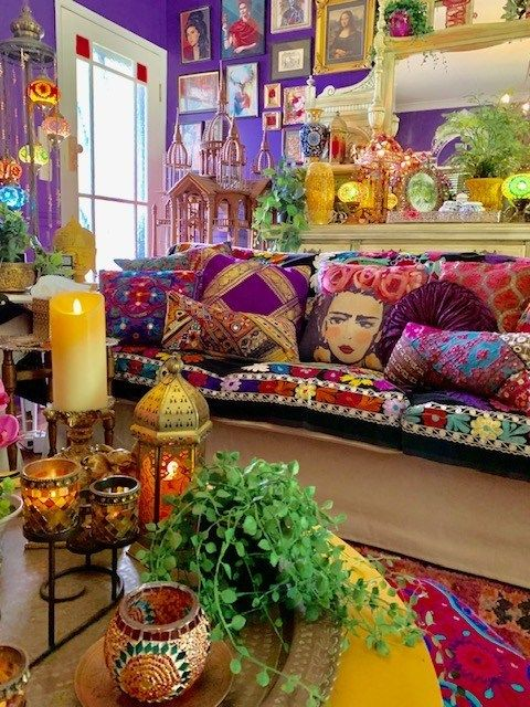 Photo of Home Tour: Stunning Maximalist and Boho Chic Home – The Keybunch Decor Blog – Boho